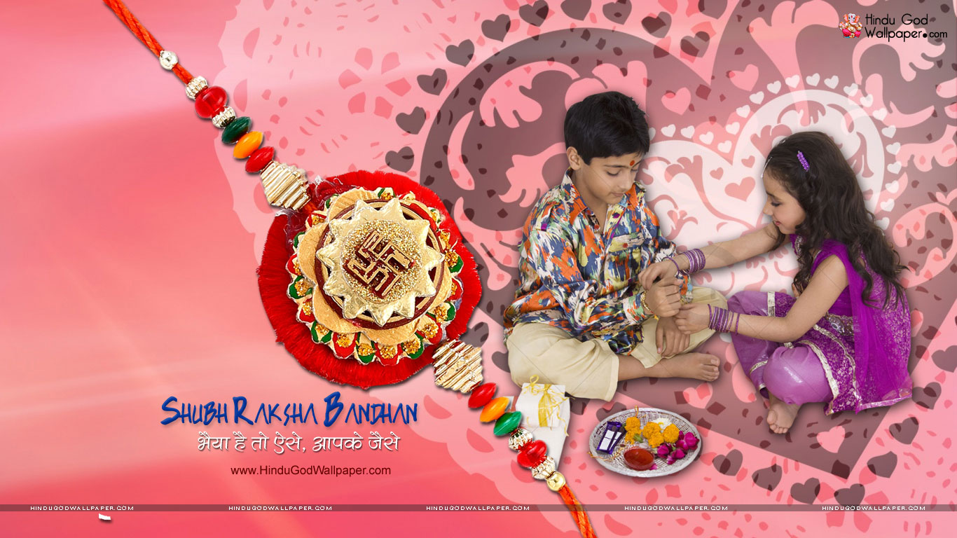 Happy Raksha Bandhan Rakhi Advance Wishes Hd Wallpaper 2018