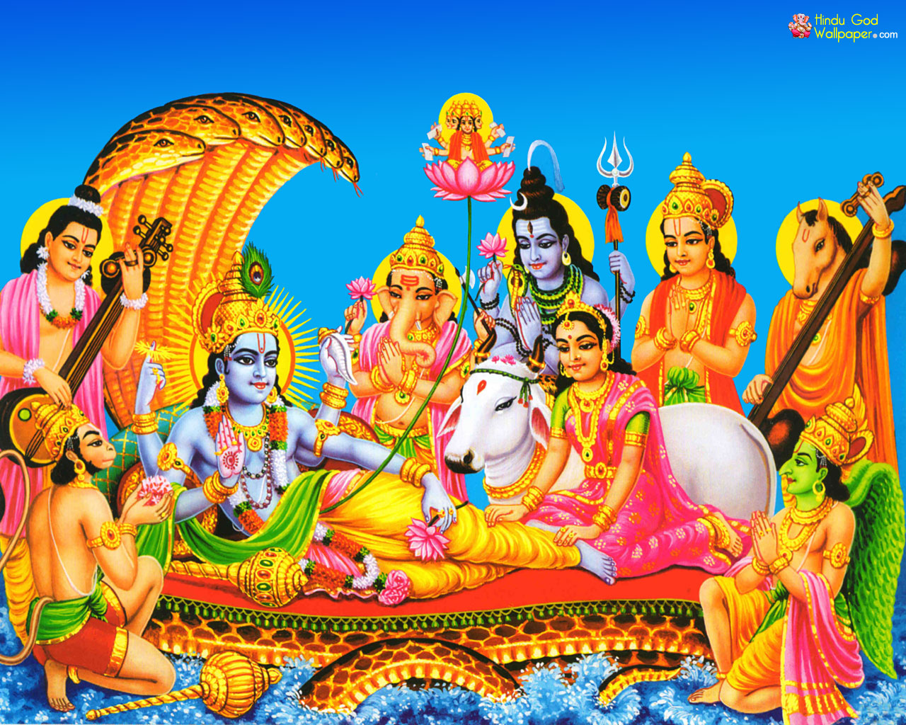 Lord Brahma Vishnu Shiva Wallpaper Free Download