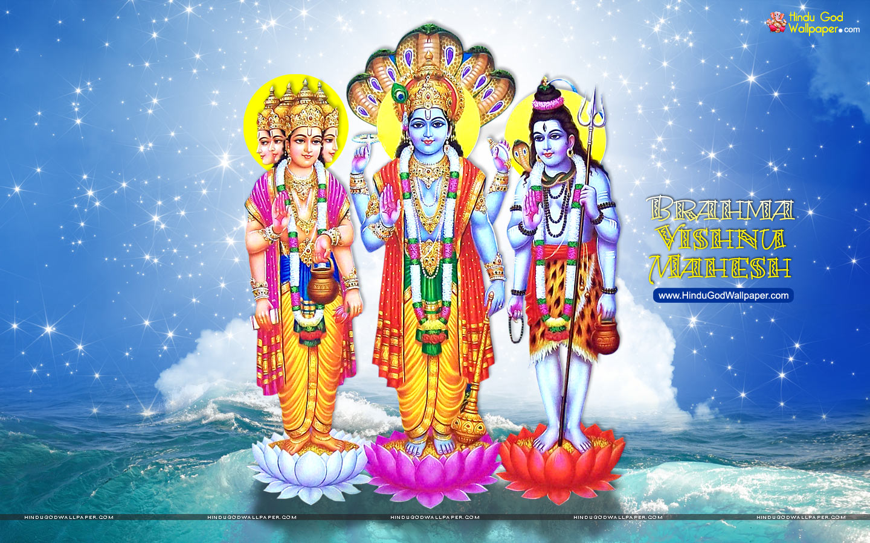 brahma vishnu mahesh wallpaper