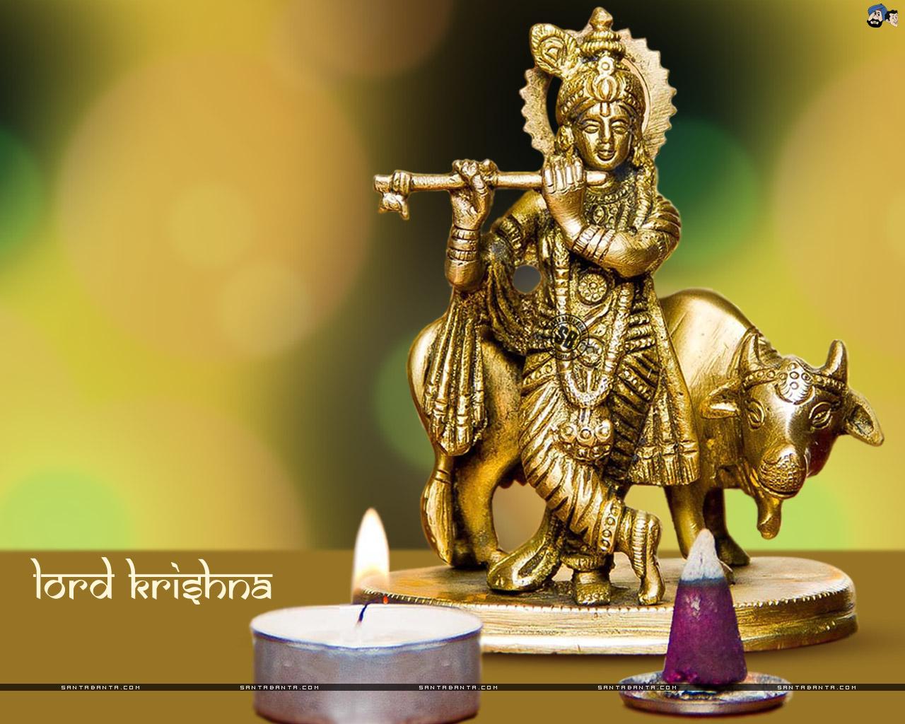 SantaBanta Krishna Janmashtami Wallpapers Free Download