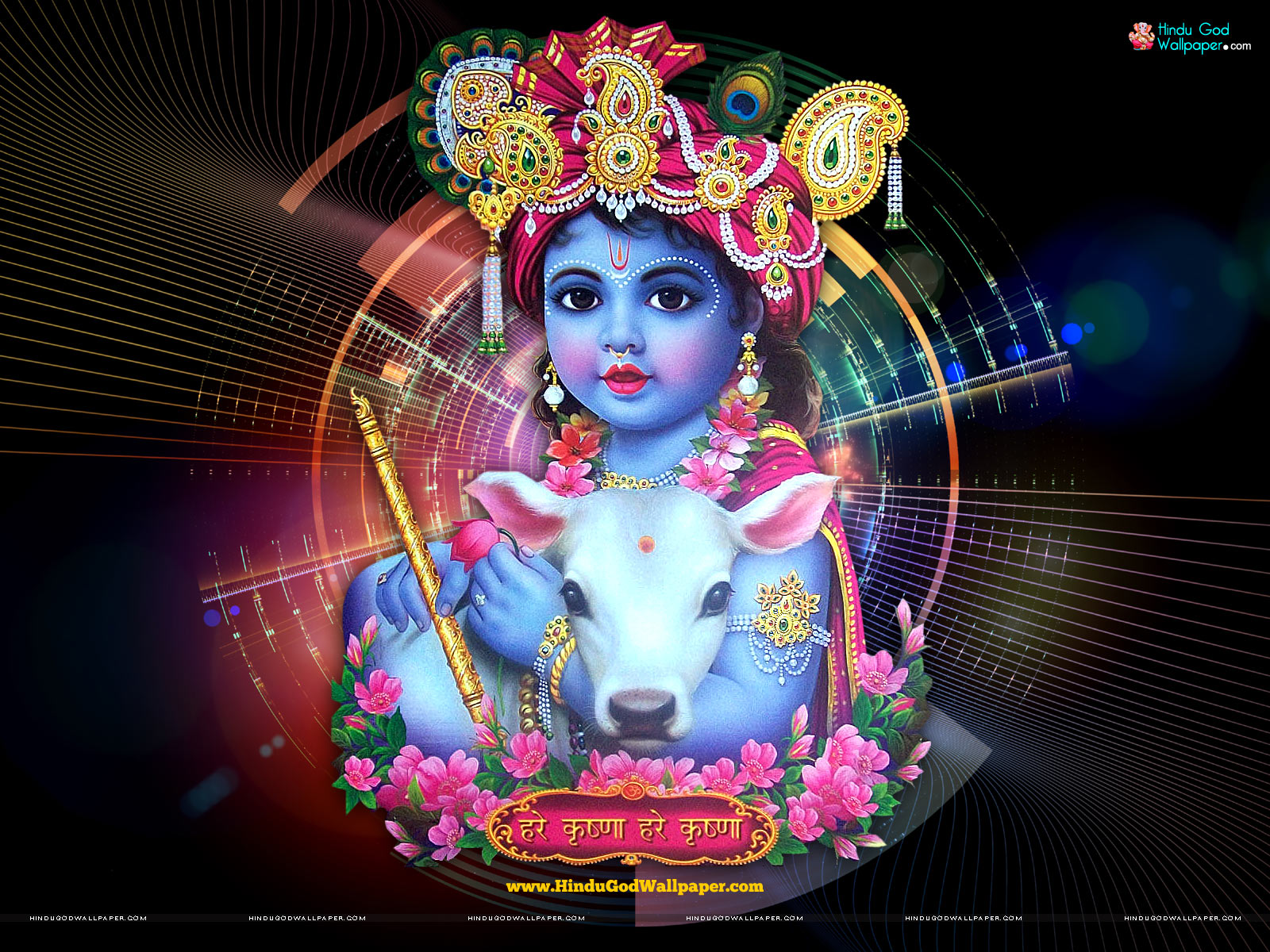 Lord Krishna Childhood Hd Wallpapers Free Download