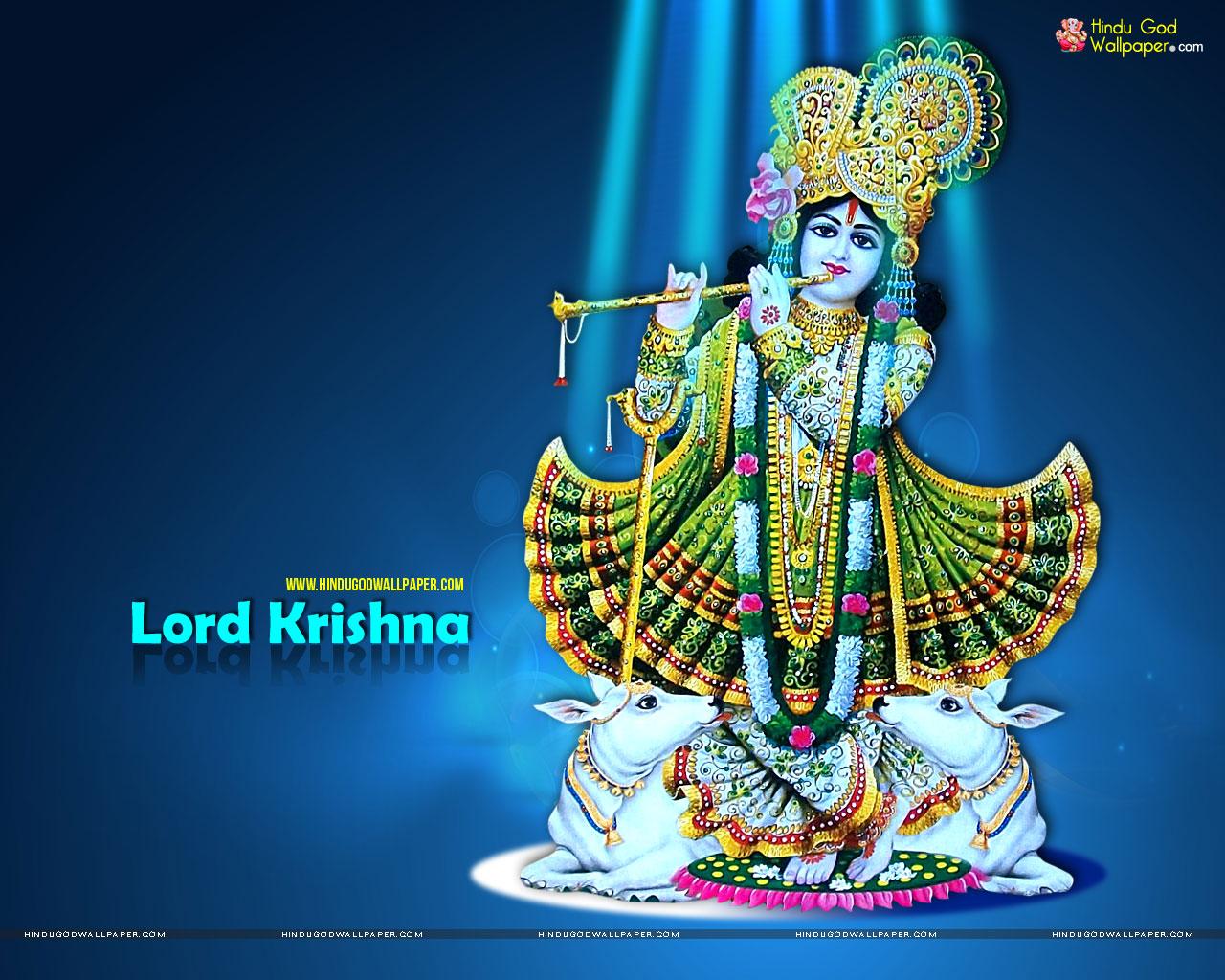 hindu god wallpapers: lord krishna high resolution