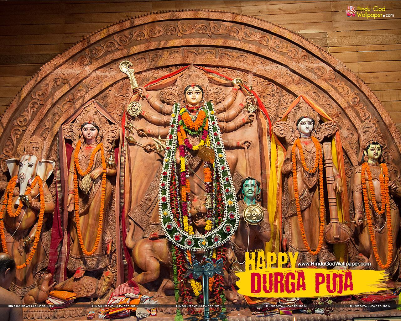 Best Durga Puja Wallpapers Hd Desktop Wallpapers