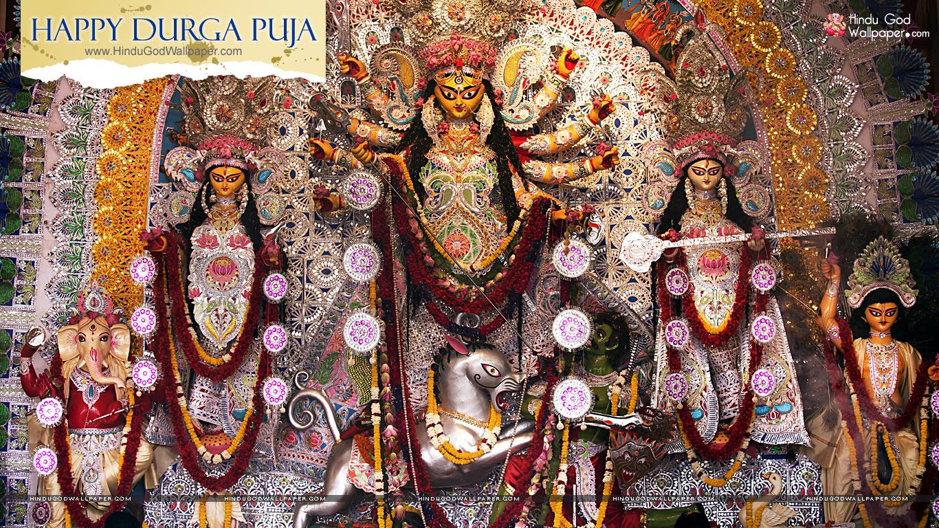 Durga Puja Greetings Wallpapers Free Download