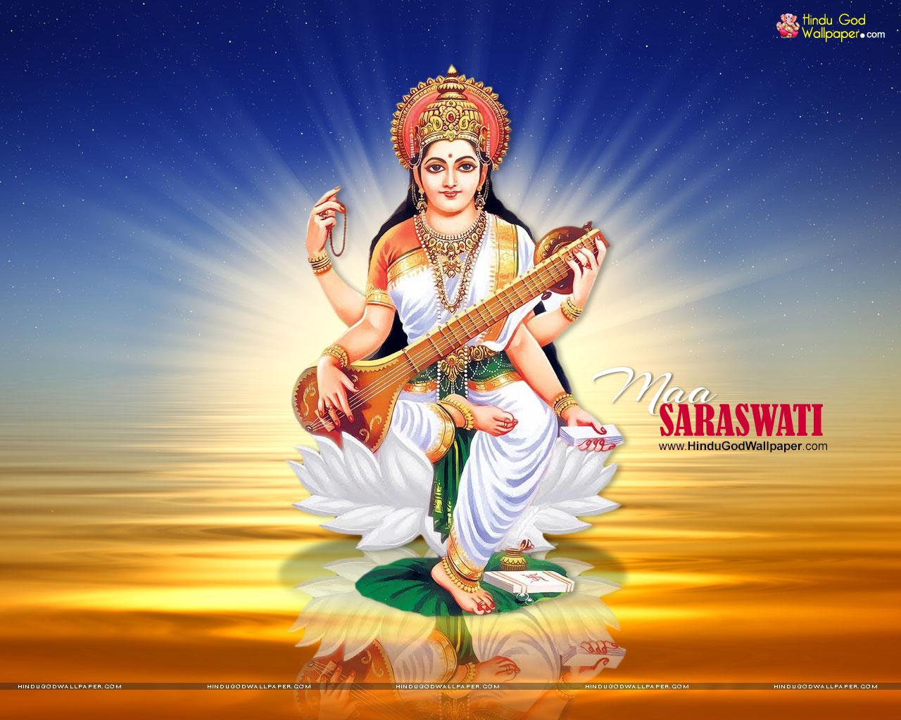 Saraswati Black White Wallpapers Photos Images Download