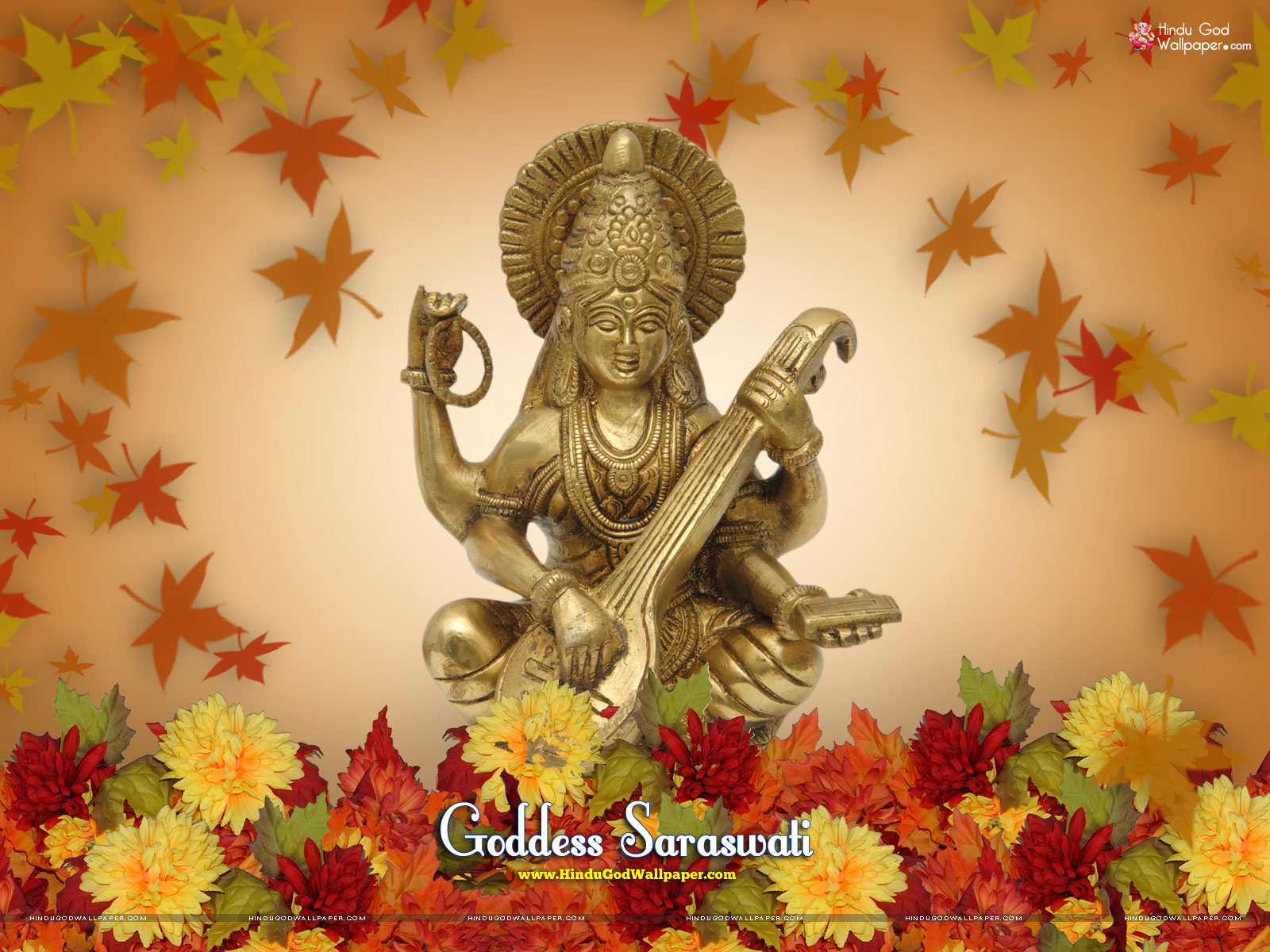 saraswati puja wallpaper