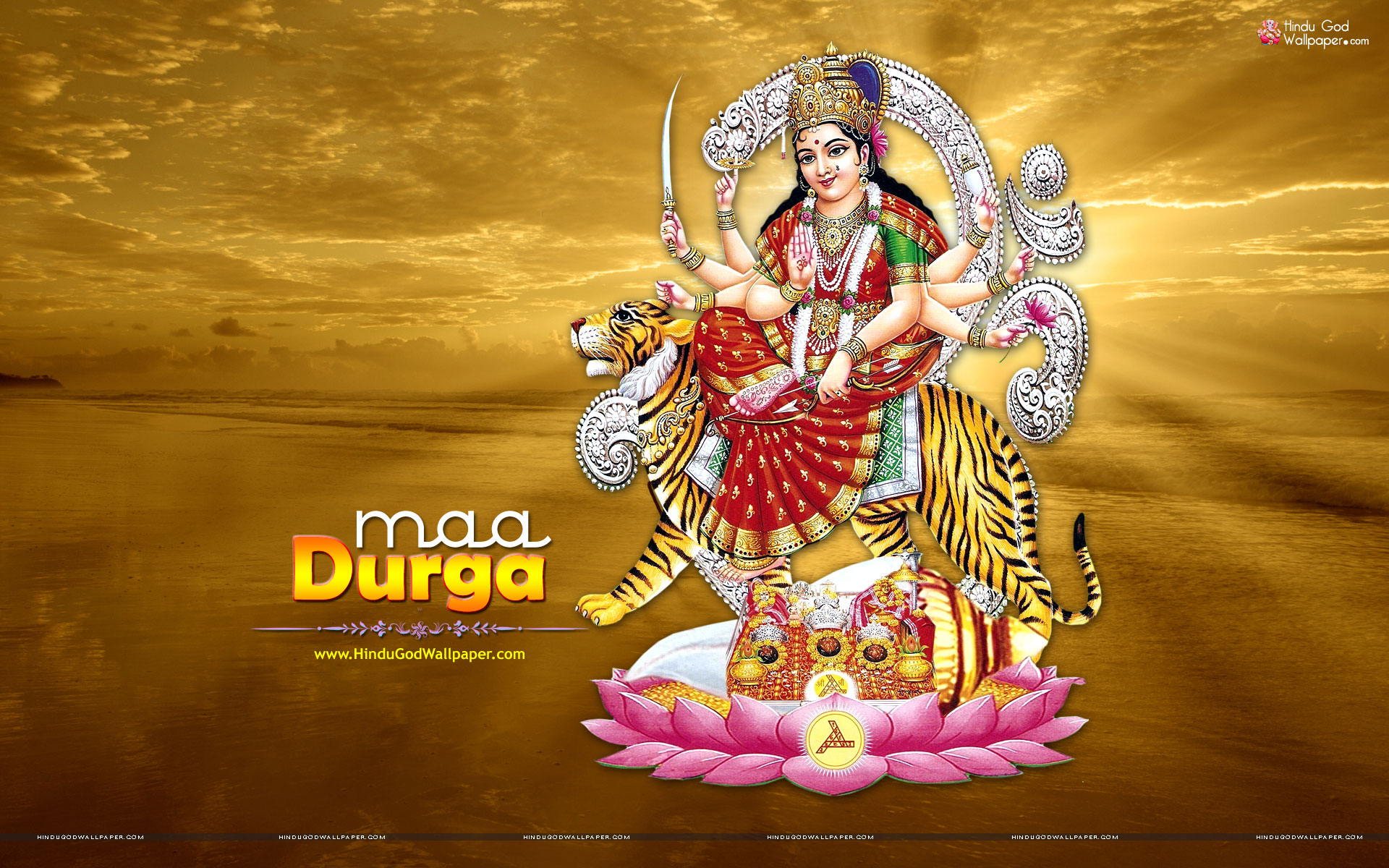 maa durga wallpaper full size for desktop download