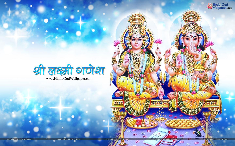 Goddess Laxmi Ganesh Hd Wallpaper Free Download