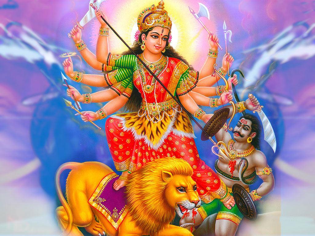 navratri maa durga wallpapers & images download