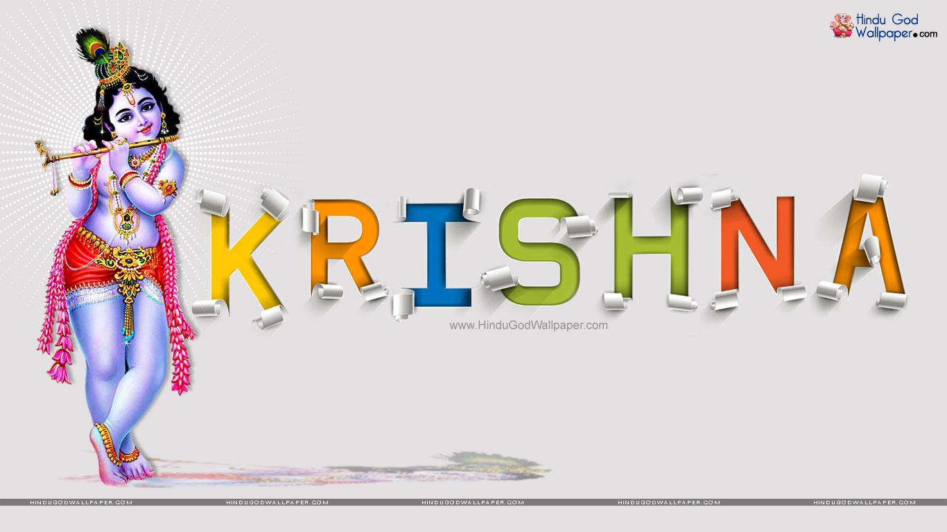 krishna name wallpapers | 3d name free download