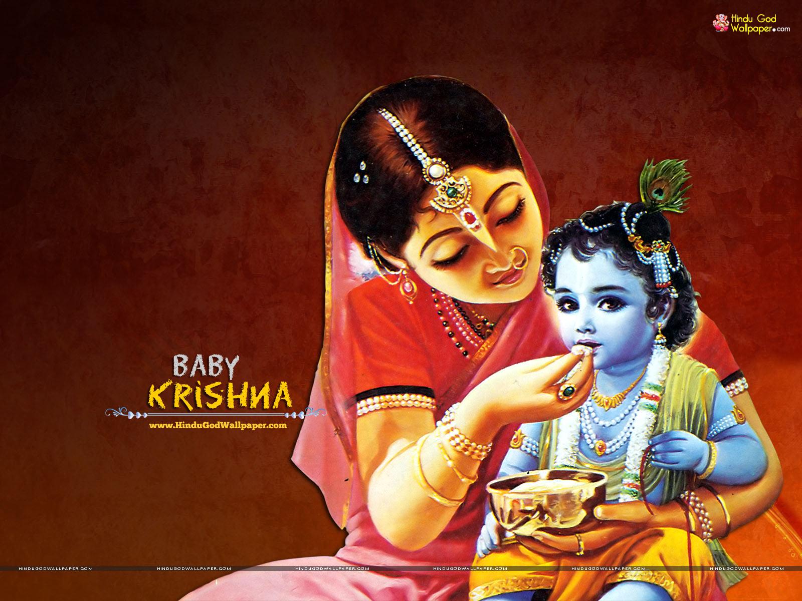 ISKCON Baby Krishna Wallpapers Free Download Images
