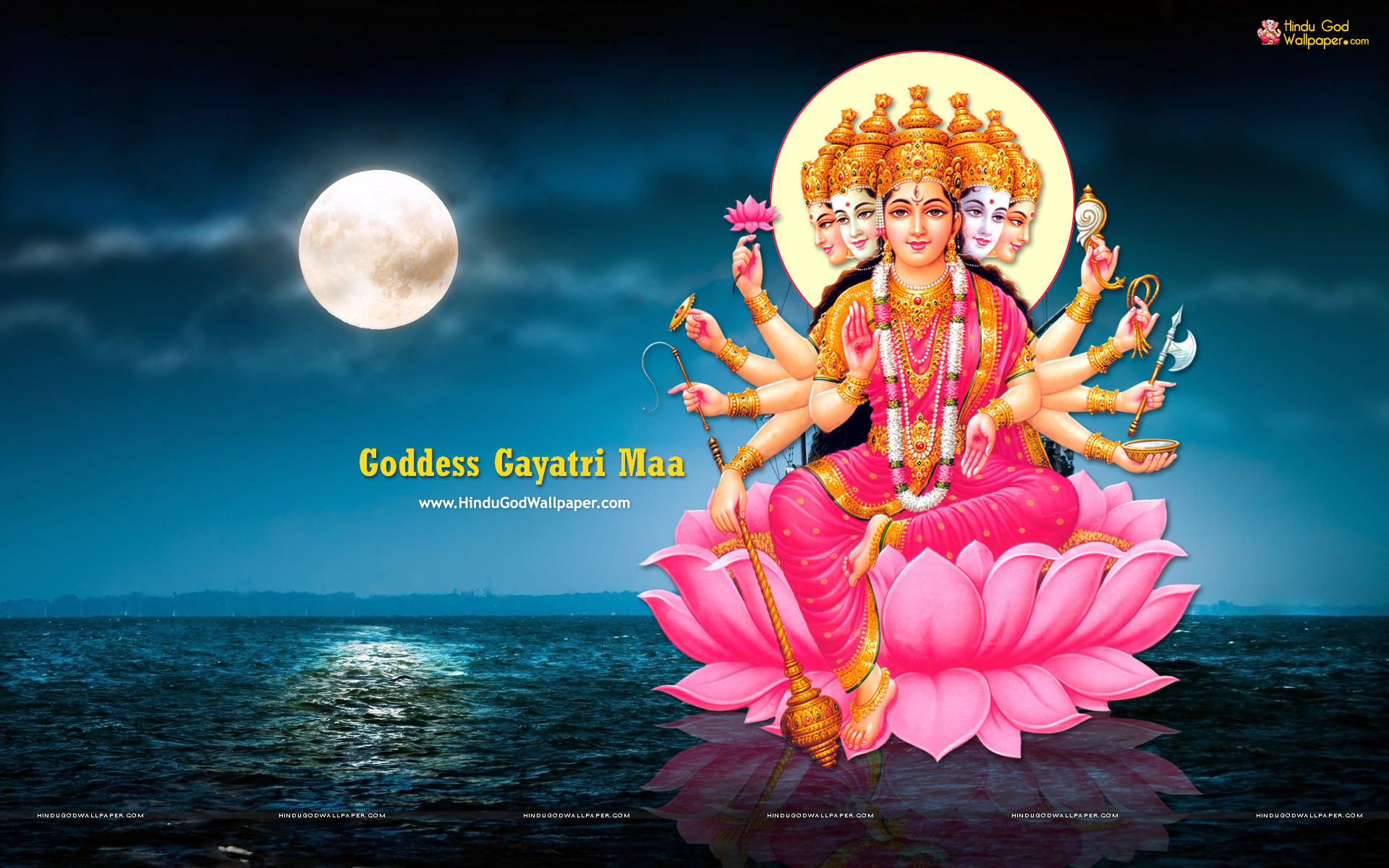 Goddess Gayatri HD