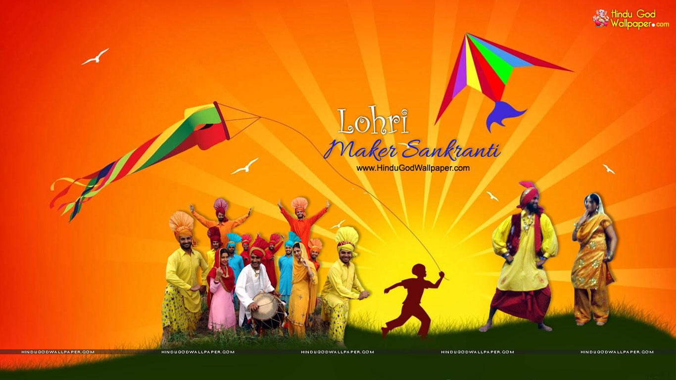 Lohri And Makar Sankranti Wallpapers Images Download