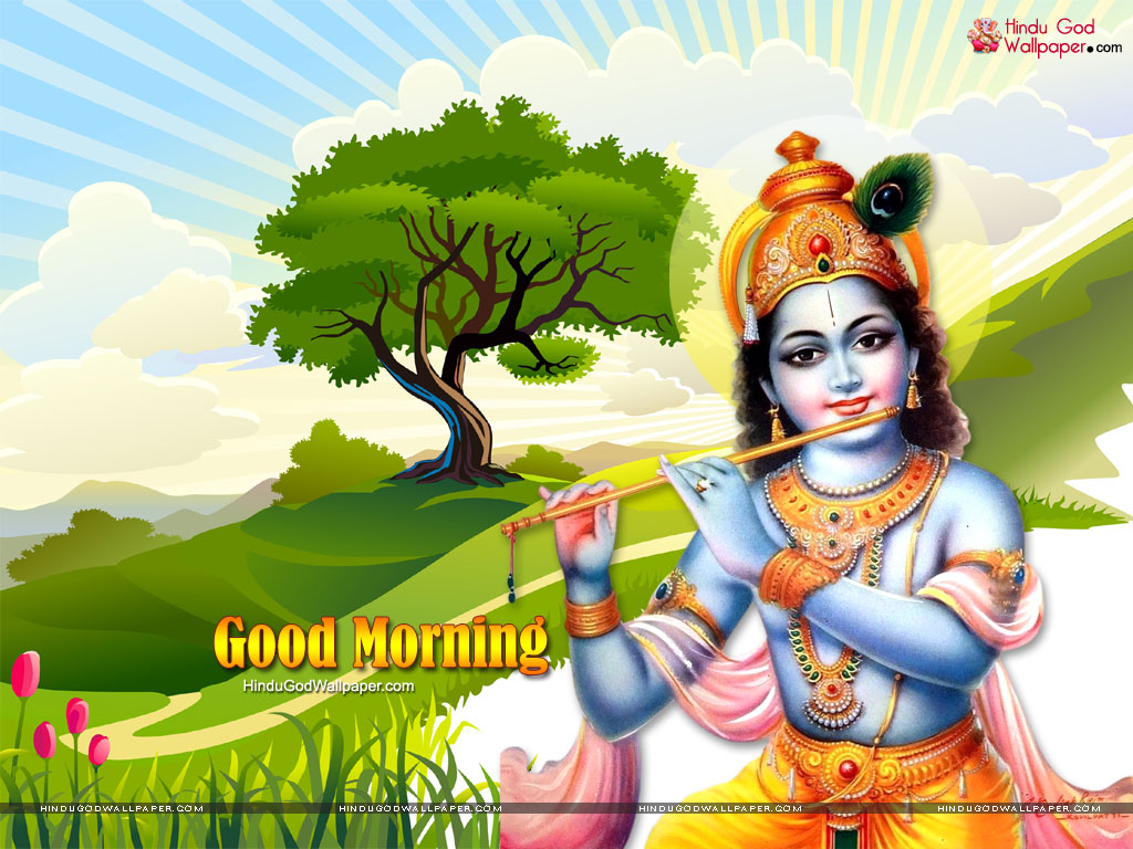 Good Morning Krishna Wallpapers Images Download