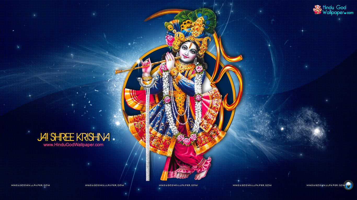 Krishna Bhagwan Wallpaper Full Hd Size Free Download