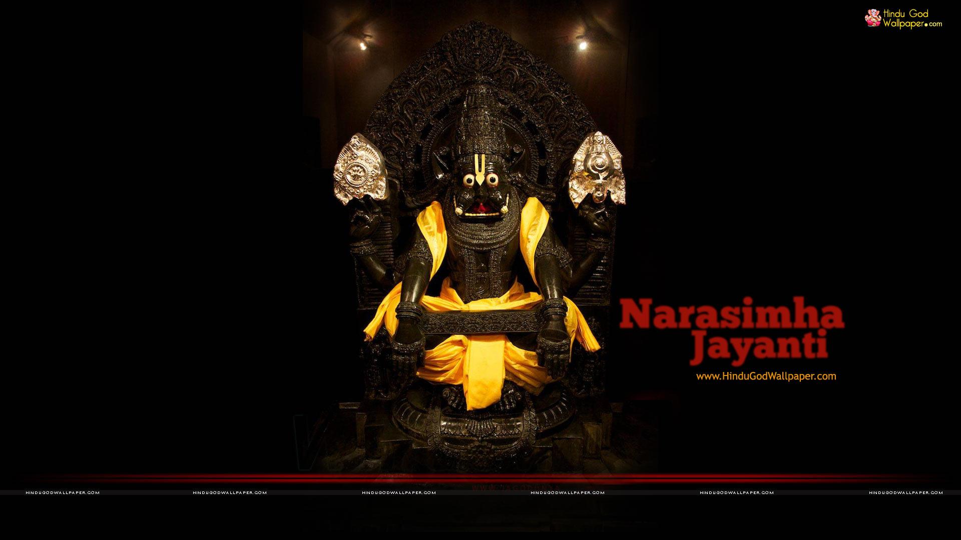 Narasimha Jayanti 2018 wallpaper