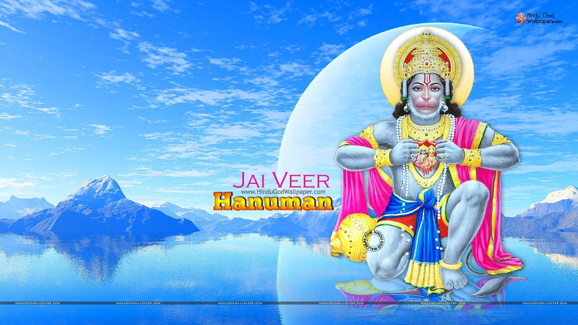 Veer Hanuman Hd Wallpaper Full Size 1080p Download