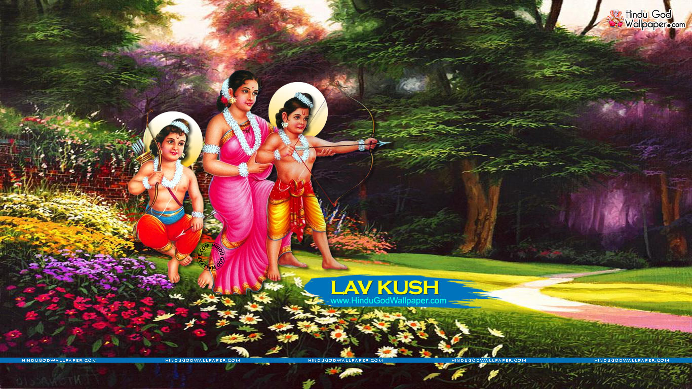 lav kush ramayan wallpapers
