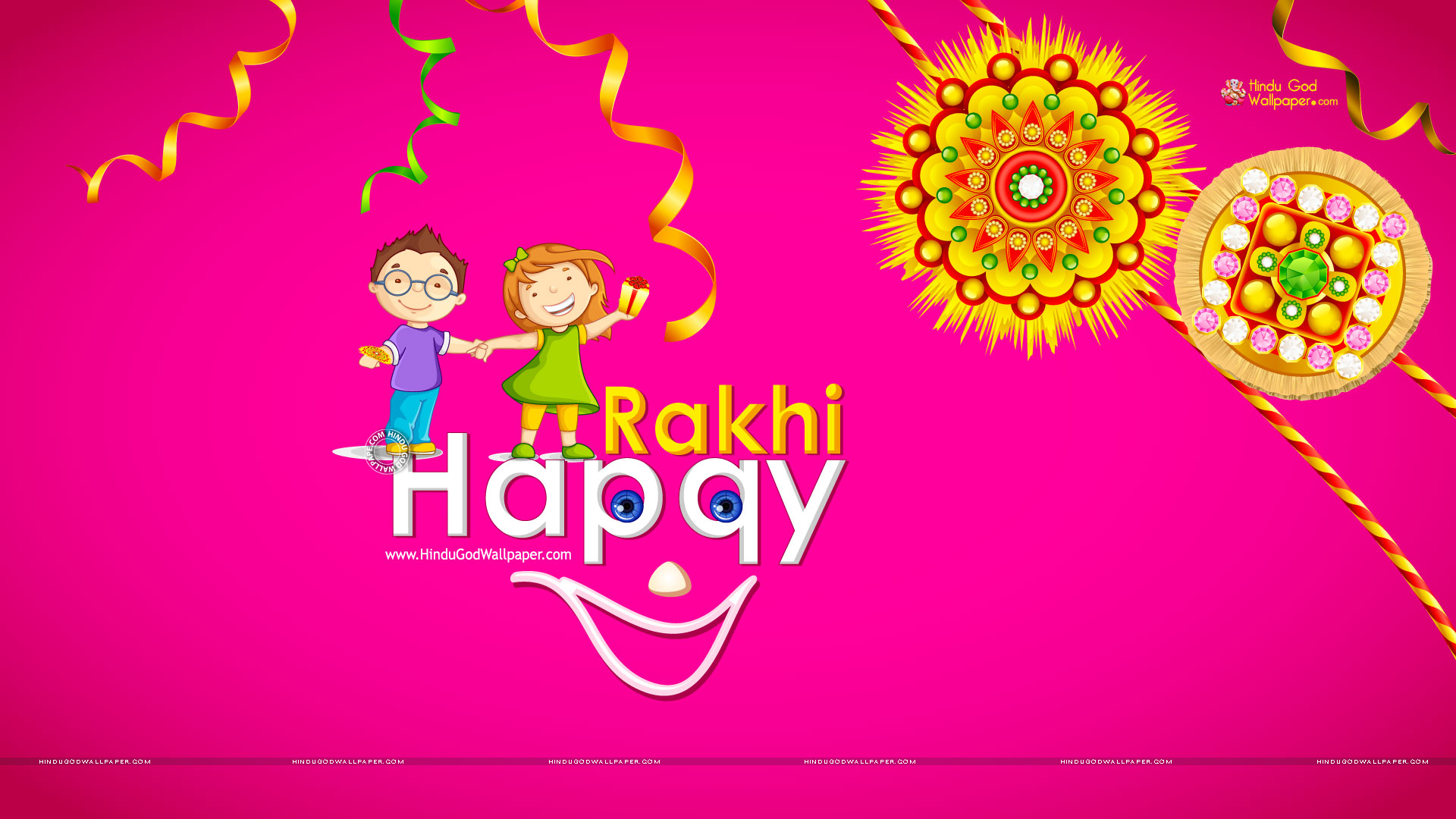 raksha bandhan cute wallpaper