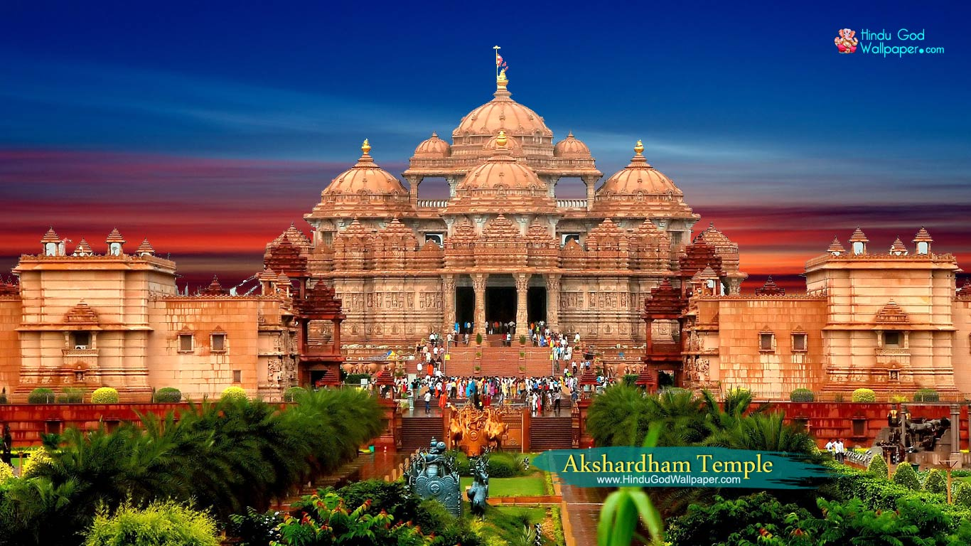 Akshardham temple hd wallpaper for desktop free download thecheapjerseys Image collections