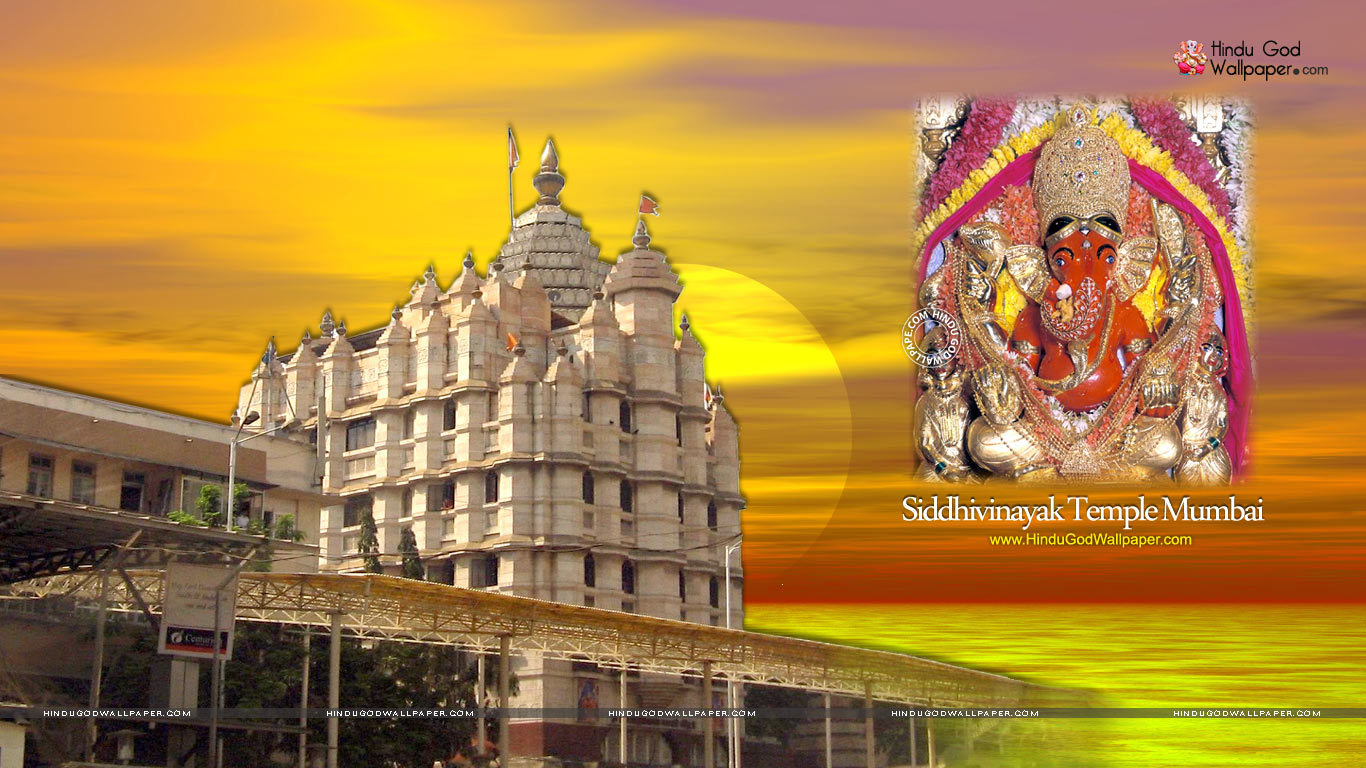 Siddhivinayak Temple Mumbai HD Wallpapers Pictures Download
