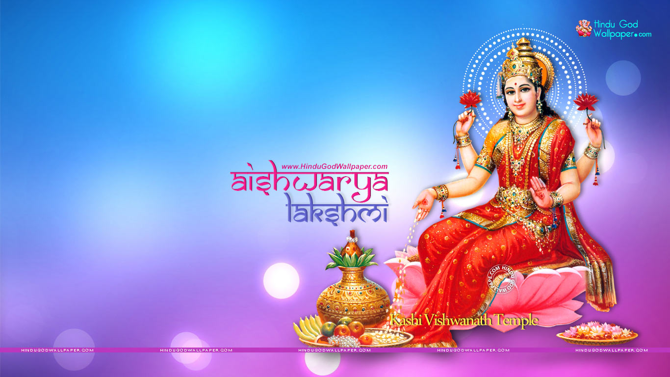 Goddess Aishwarya Lakshmi Hd Wallpapers Images Download