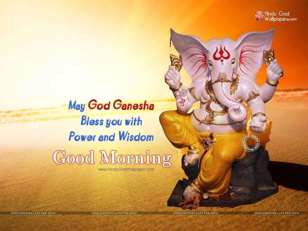 Good Morning Ji : Good morning ganesh ji wallpapers images photos download