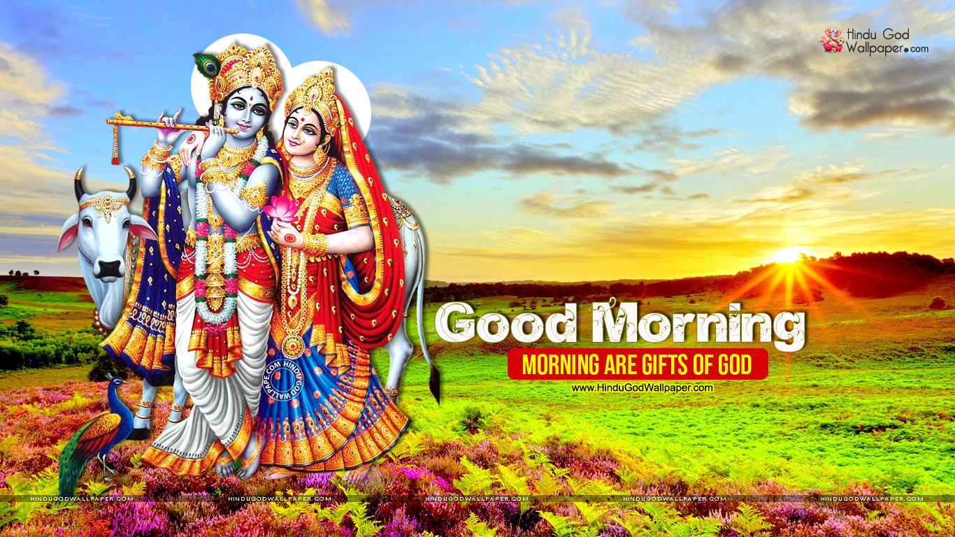 Good Morning God HD Wallpaper