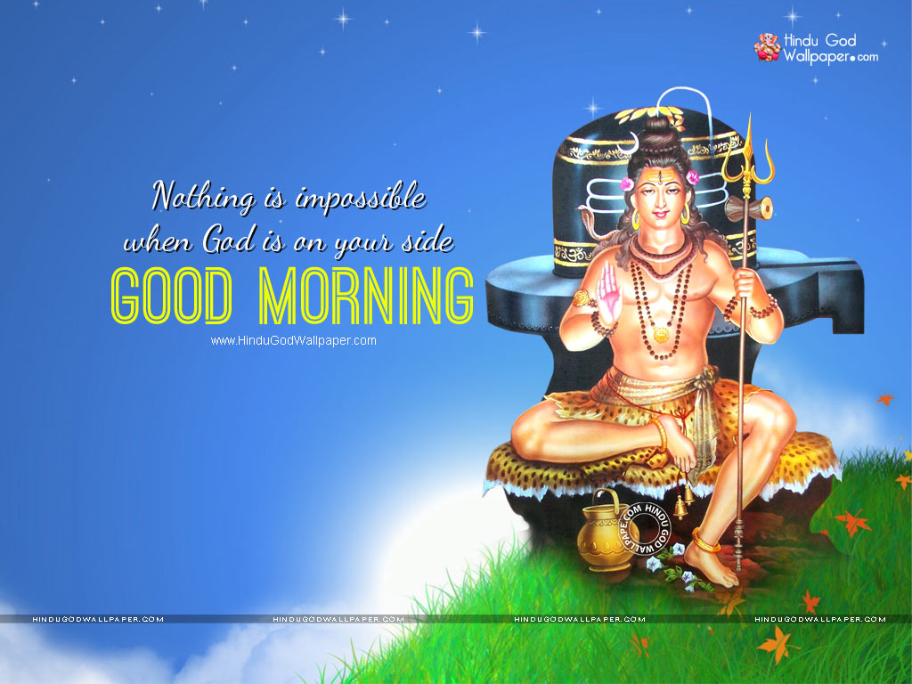 Hindu God Good Morning Wallpapers Images Photos Download