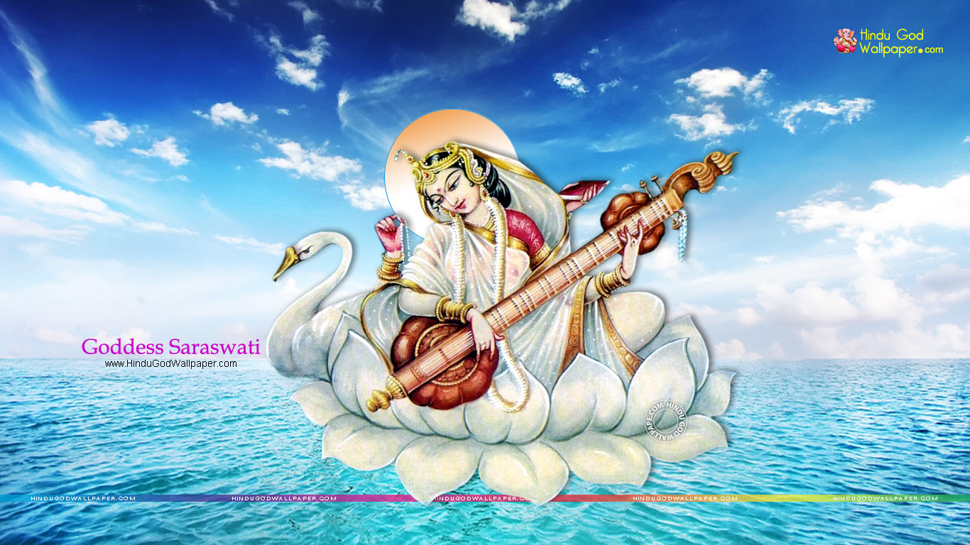 Saraswati Wallpaper HD