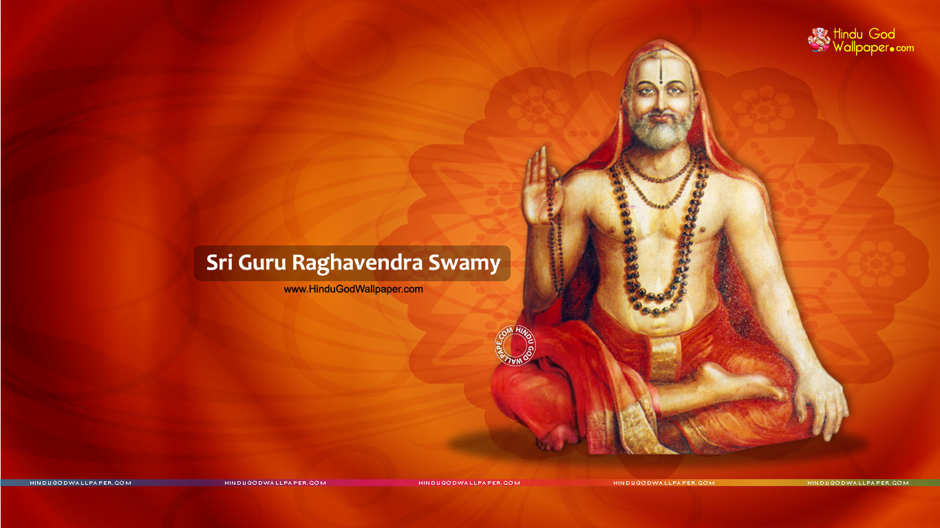 Sri Raghavendra HD Wallpaper