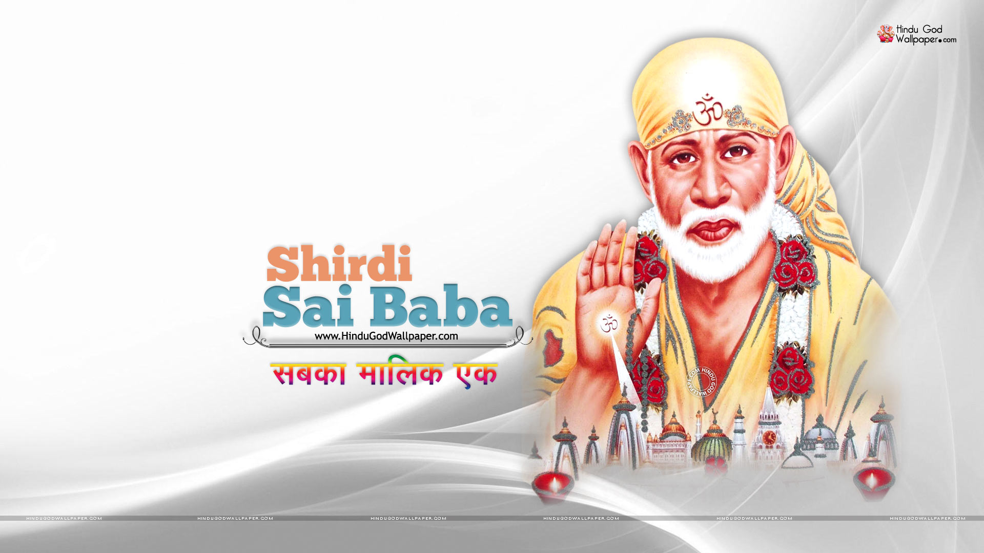 1920x1080 Full Hd Sai Baba Wallpapers For Desktop 1080p