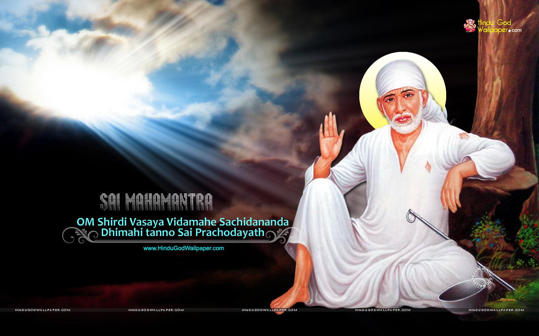 Sai Baba Desktop Background Wallpaper