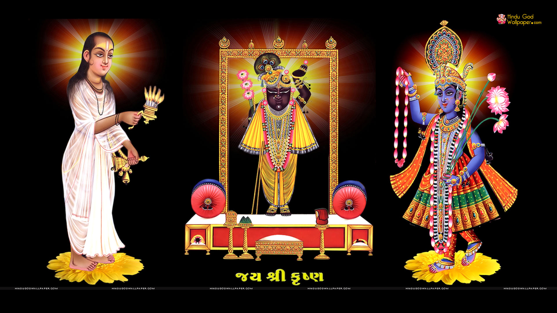 Shrinathji Yamunaji Mahaprabhuji HD Wallpaper
