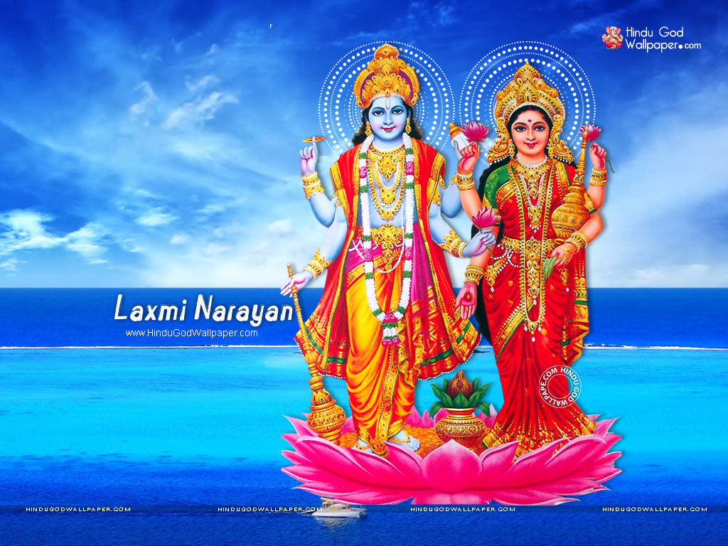 Lakshmi Narayan Wallpaper