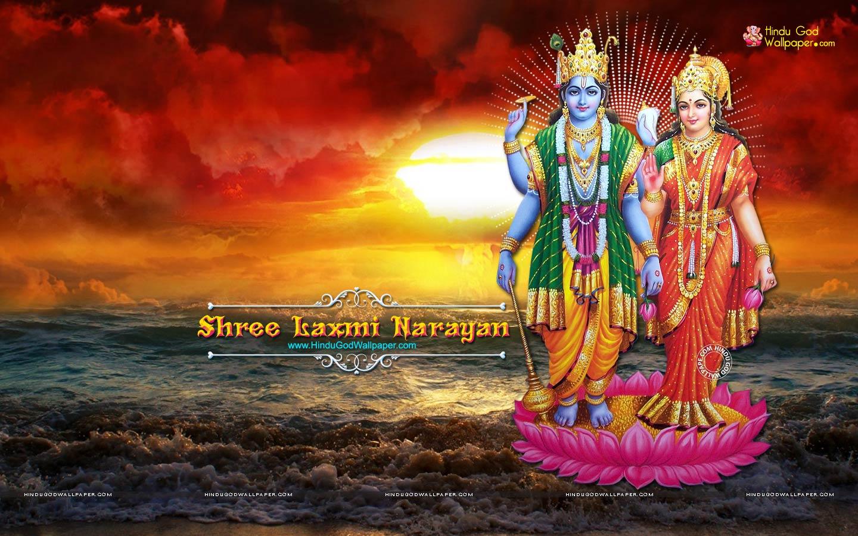 Lakshmi Narayan HD Wallpaper