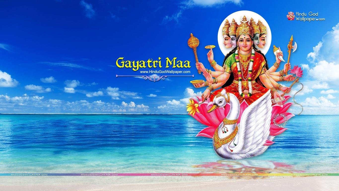 Goddess Gayatri Devi Wallpapers Hd Images Free Download