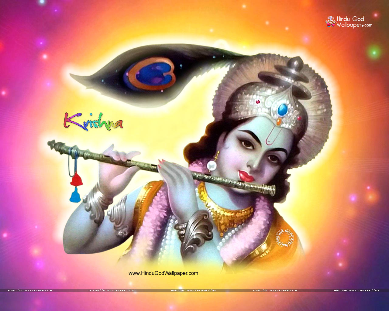 Lord Krishna Wallpapers 1280x1024