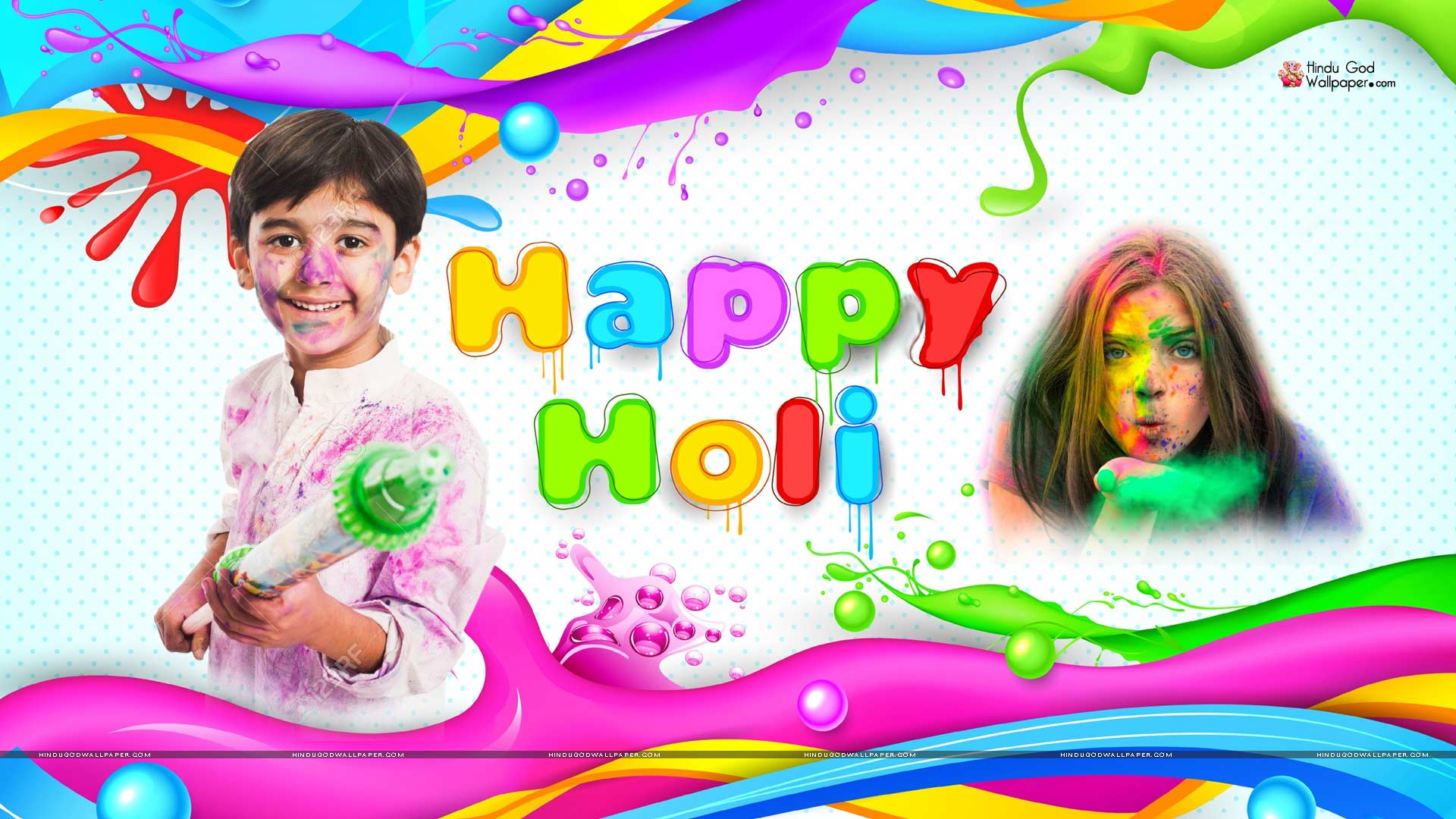 1080p Happy Holi Hd Wallpaper Full Size Free Download