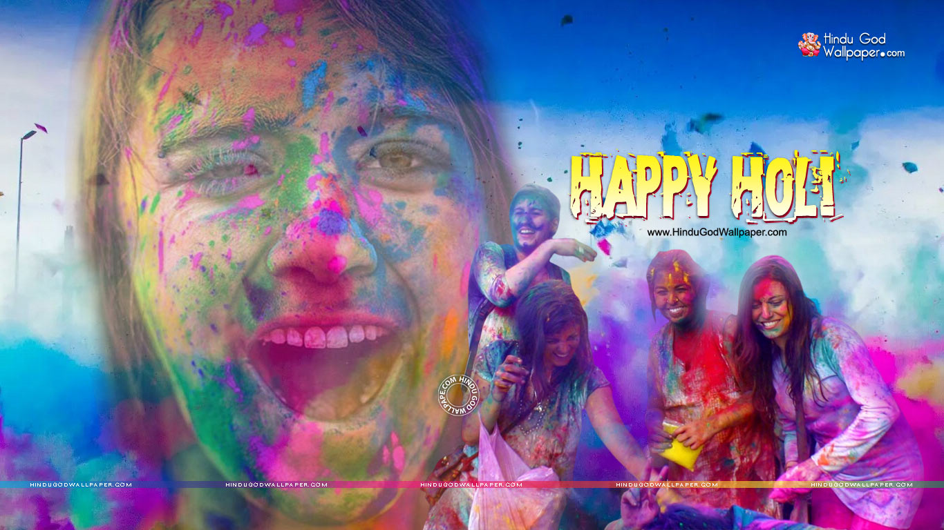 L0atest Holi Wallpapers