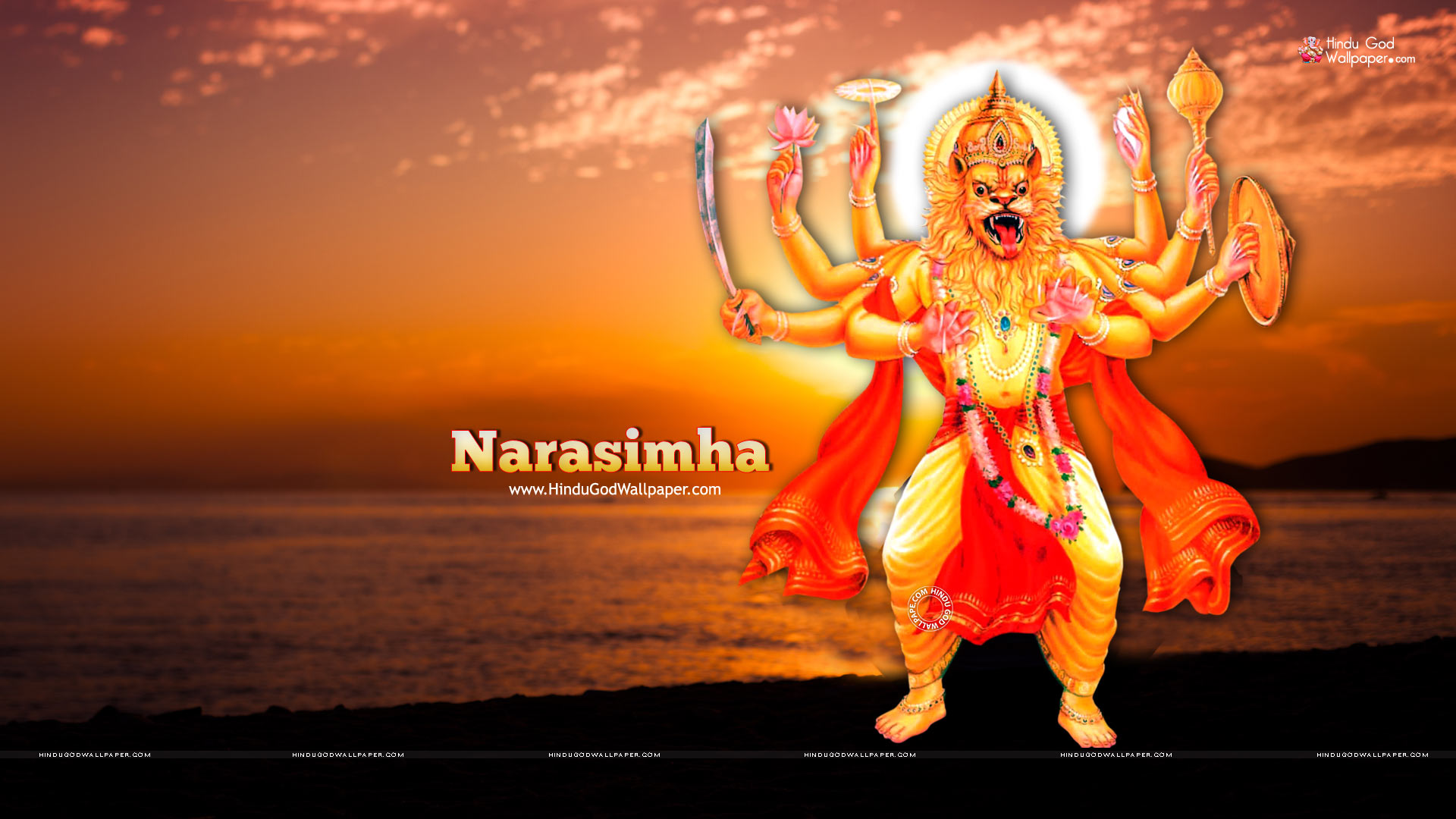 lord narasimha wallpapers hd