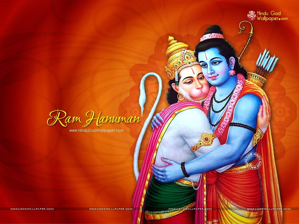 Ram Hanuman Wallpaper