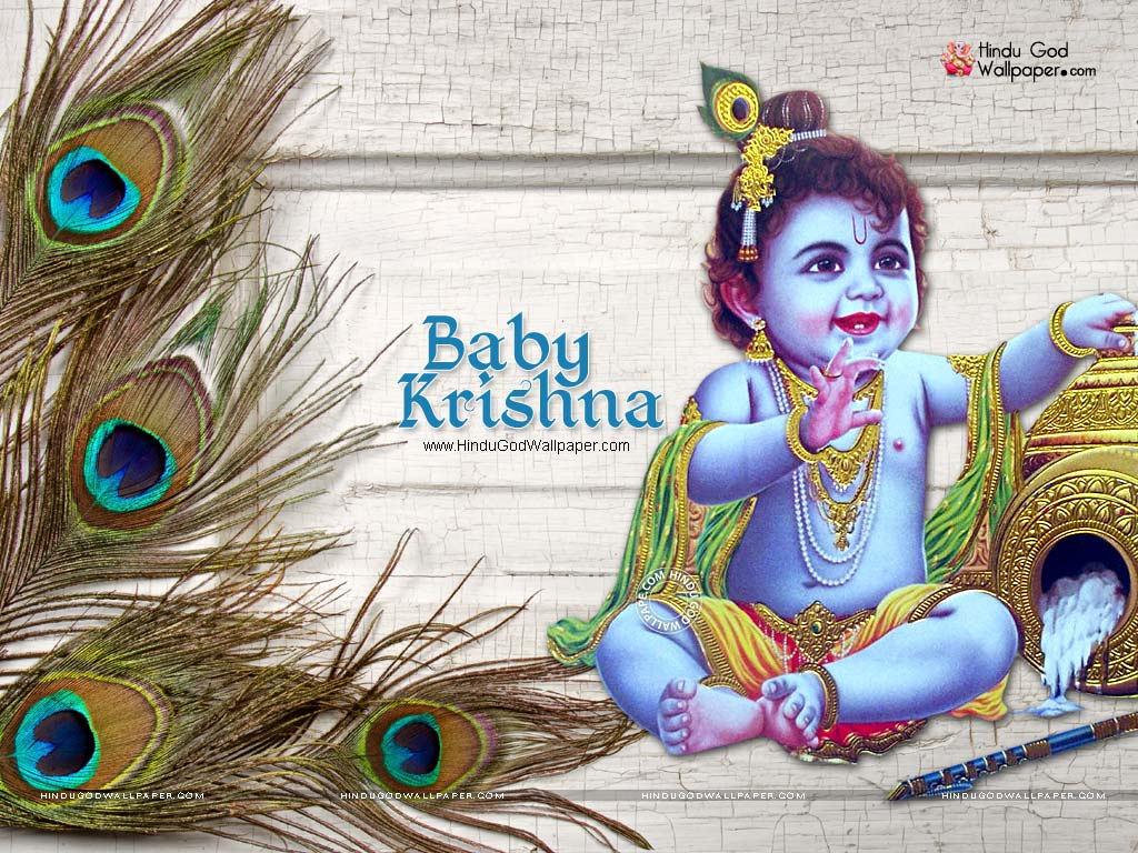 3291 baby lord krishna wallpaper