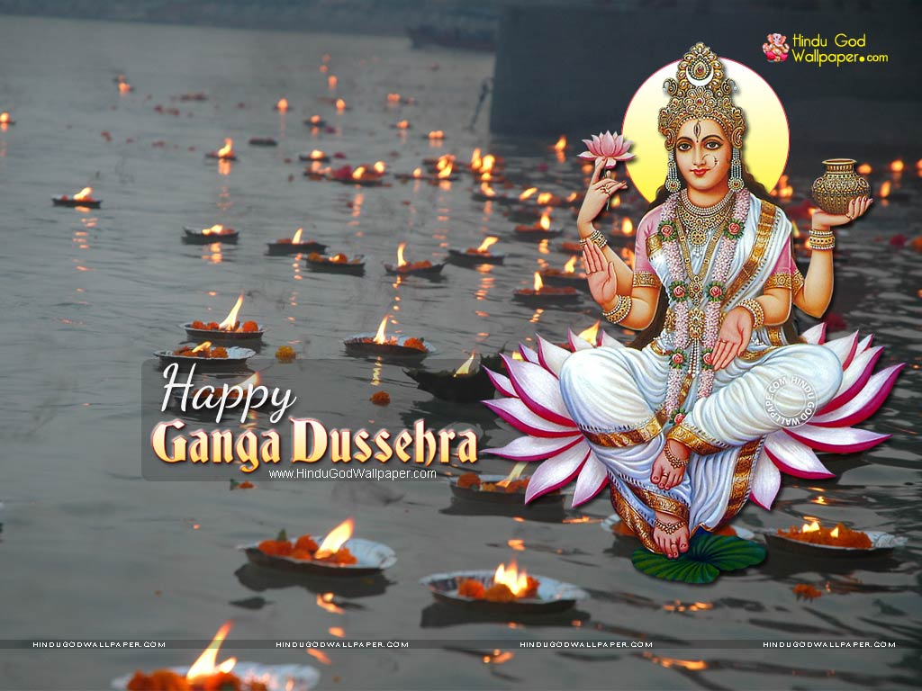 Happy Ganga Dussehra Wallpaper