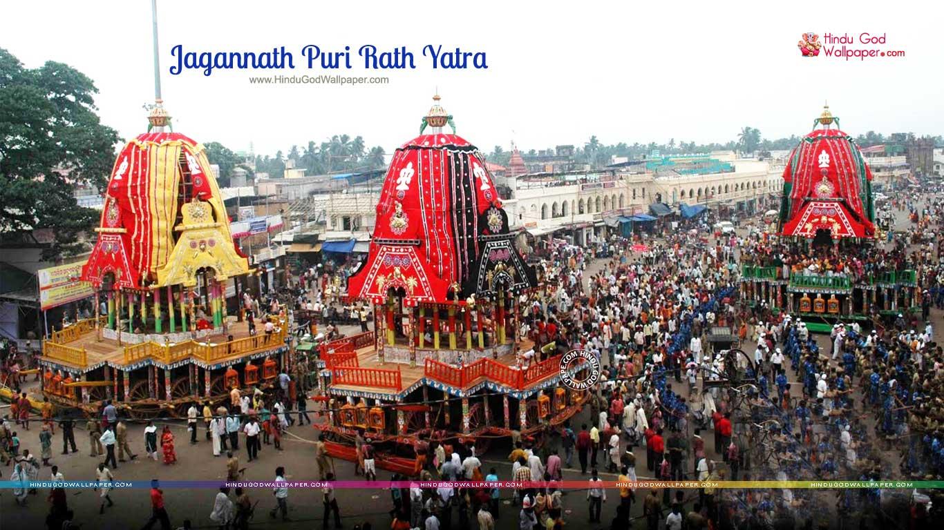 Jagannath Puri Rath Yatra Wallpapers Images Free Download