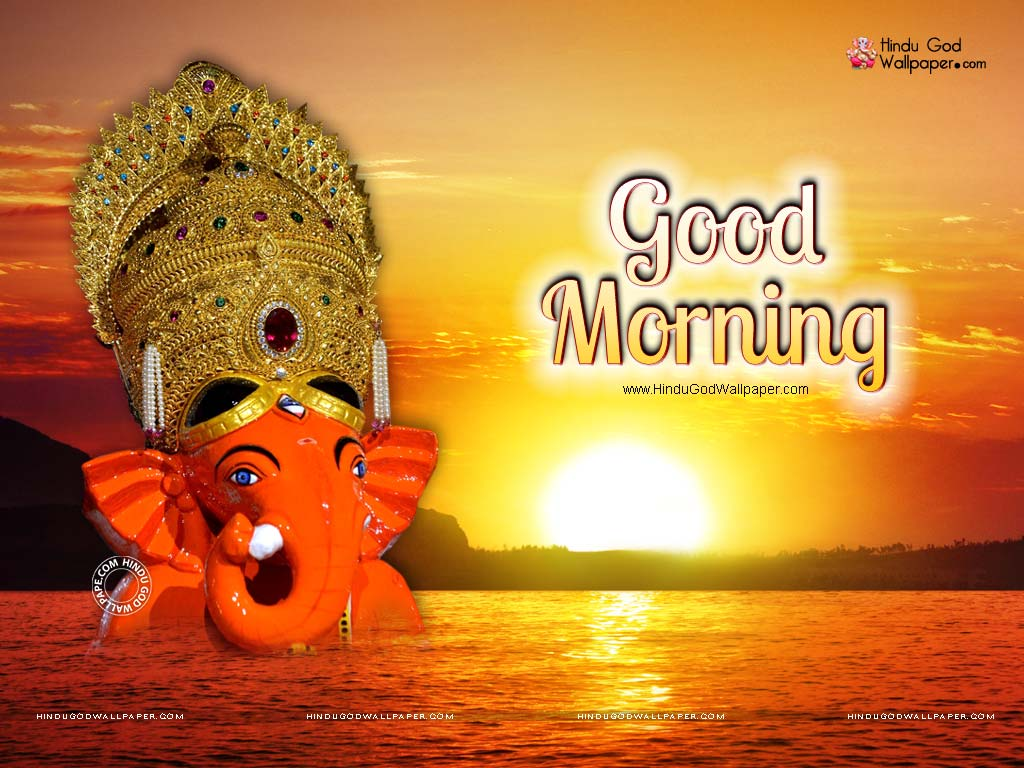 Hindu God Good Morning Wallpaper