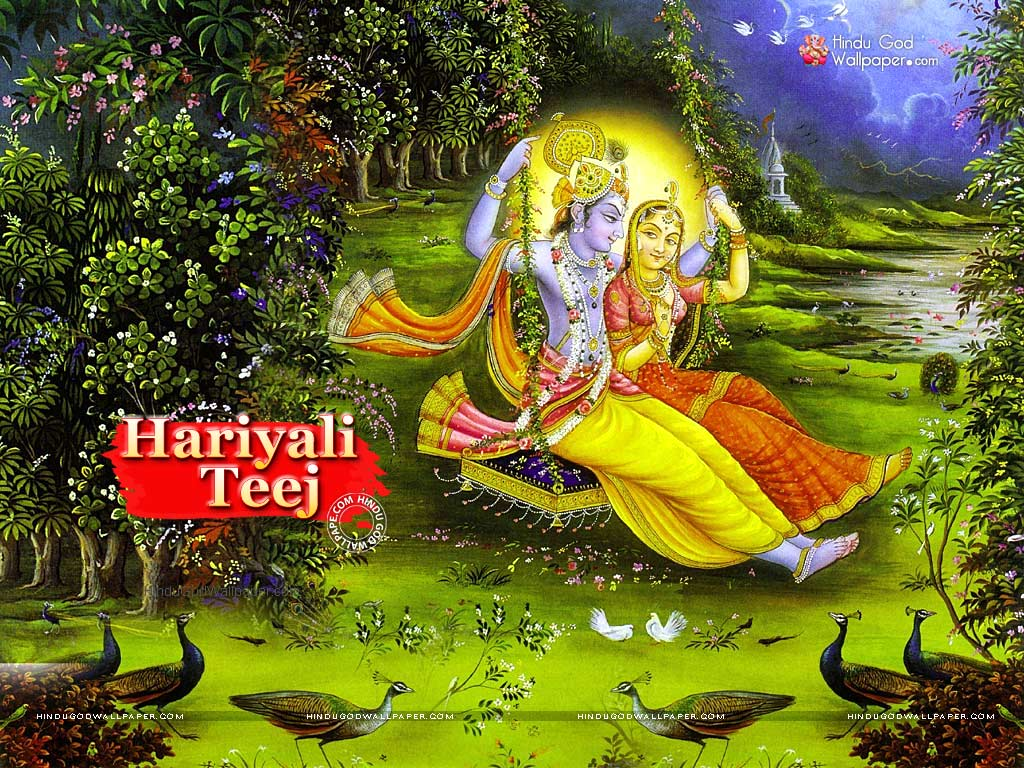 Hariyali Teej Wallpaper