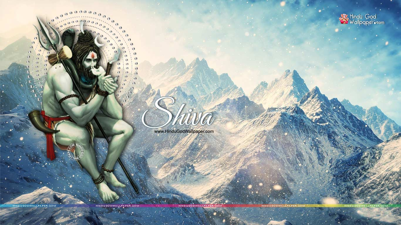 Shiva Smoking Chillum HD Wallpaper