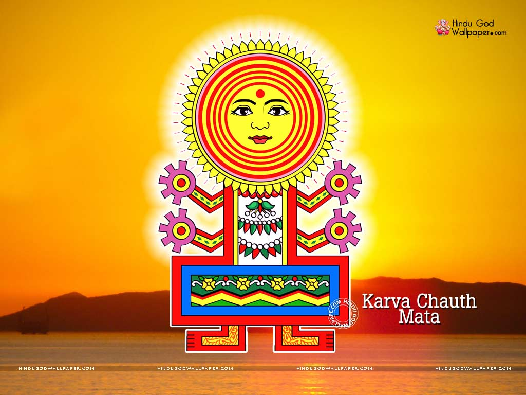 karva chauth mata wallpaper