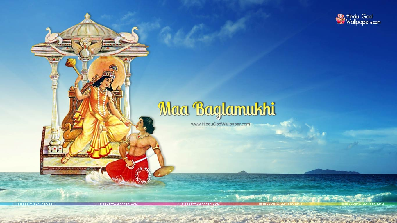 maa baglamukhi hd wallpaper